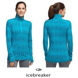 ICEBREAKER   Merino Wool Vertex Zip Pullover